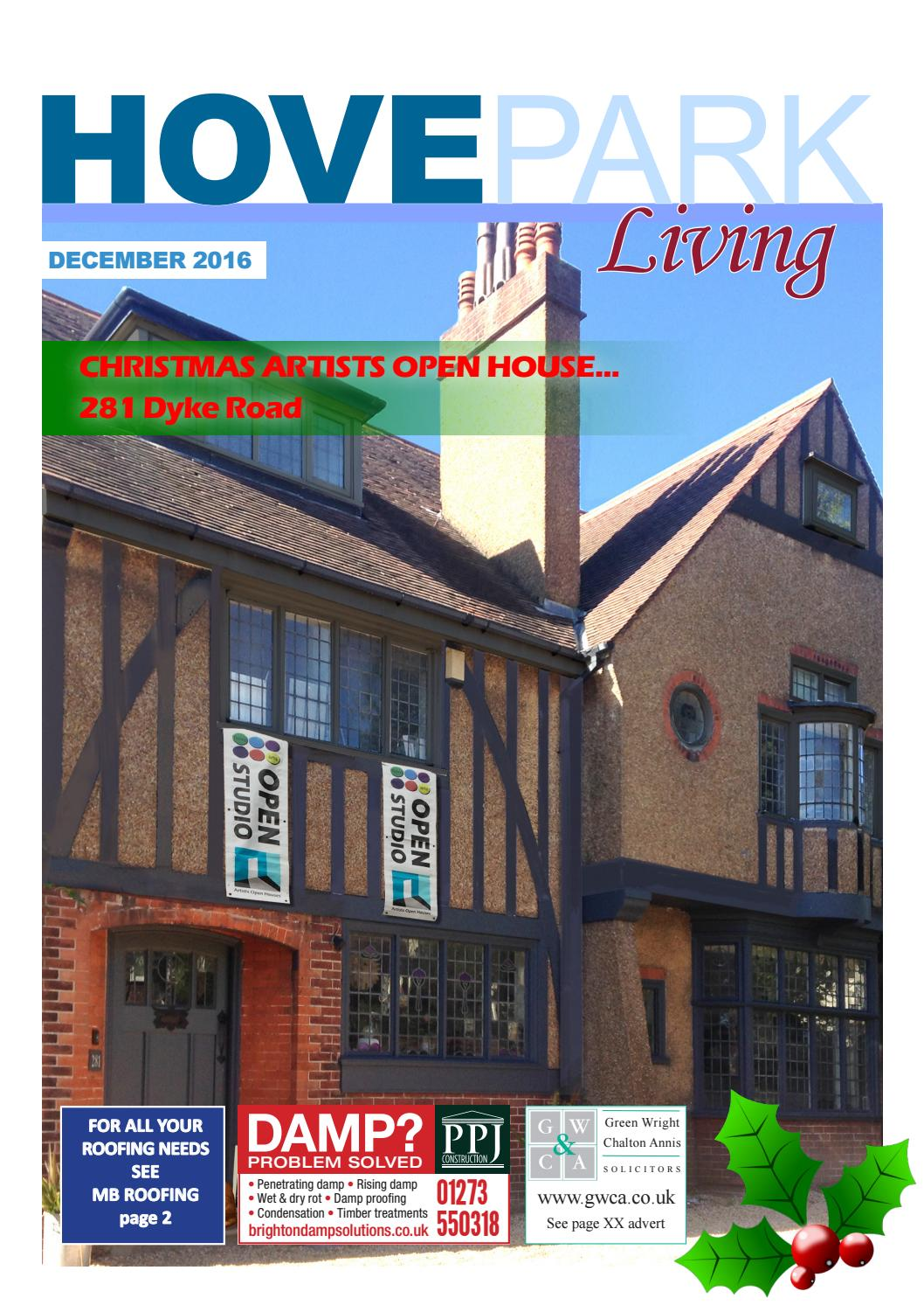 Hove Park Living December 2016 By Sussex Magazines Issuu
