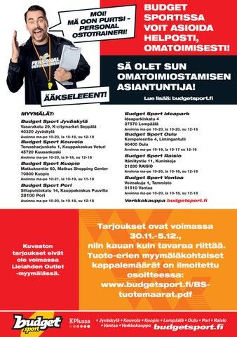 budget sport kuopio