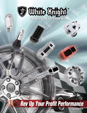 White Knight 40600S 12mm x 1.25 Thread Size Acorn Socket Type Wheel Lock Chrome 4-Pack