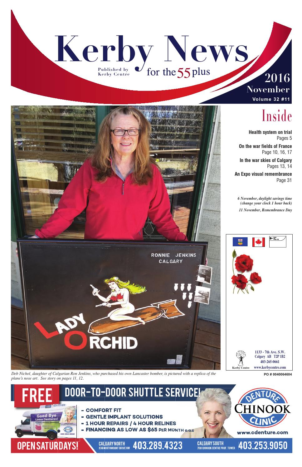 kerby news november 2016 by kerby centre issuu rh issuu com