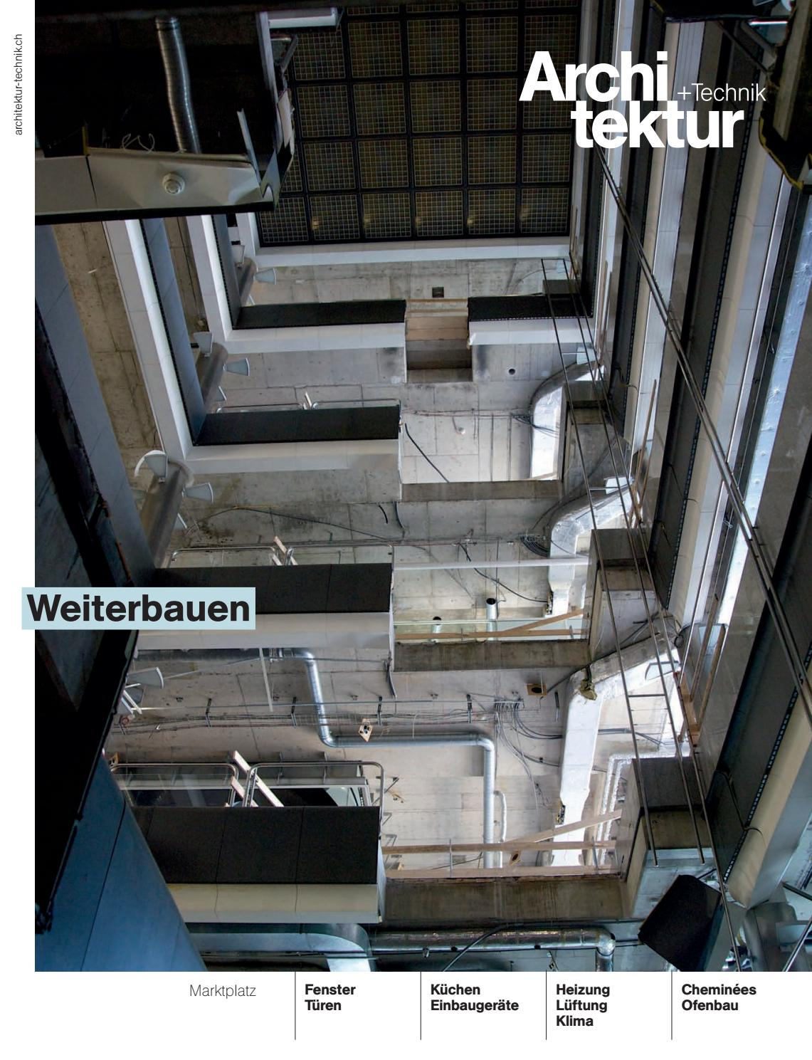 Architektur+Technik 08 2015 by BL Verlag AG - issuu
