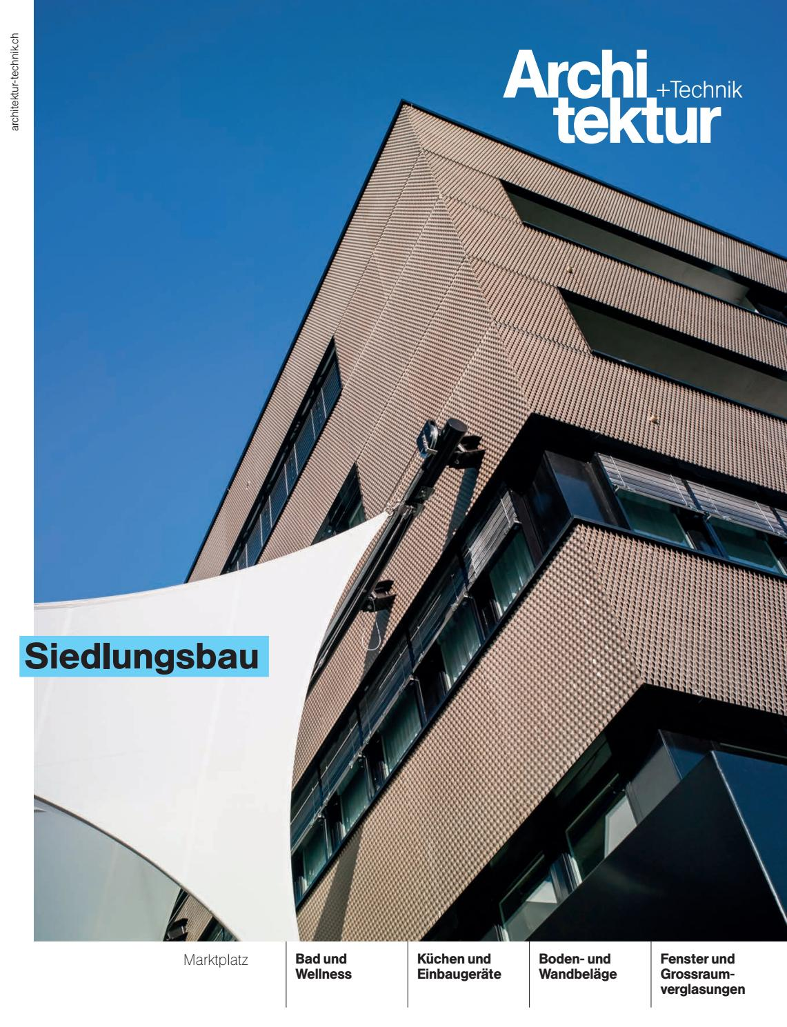 Architektur+Technik 12 2015 by BL Verlag AG - issuu