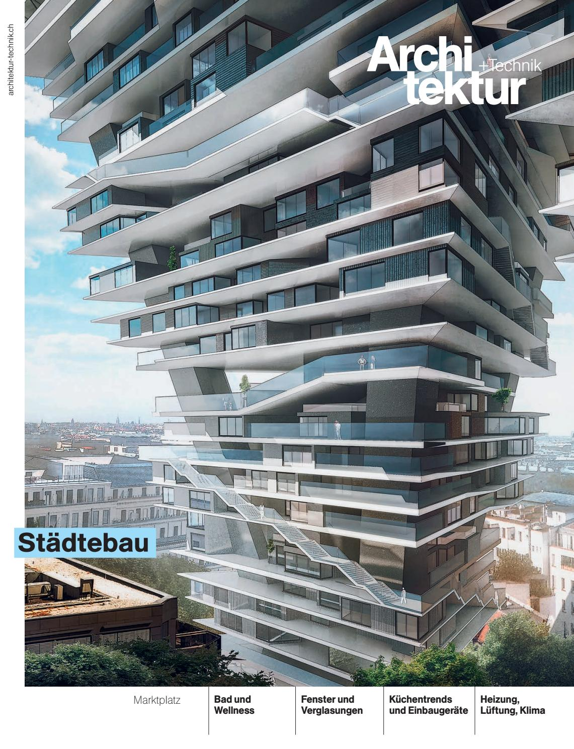 architekturtechnik 02 2016 by bl verlag ag issuu