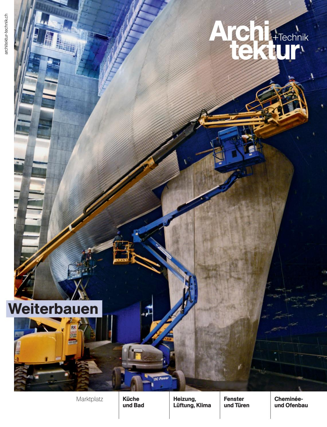 Architektur+Technik 08 2016 by BL Verlag AG - issuu