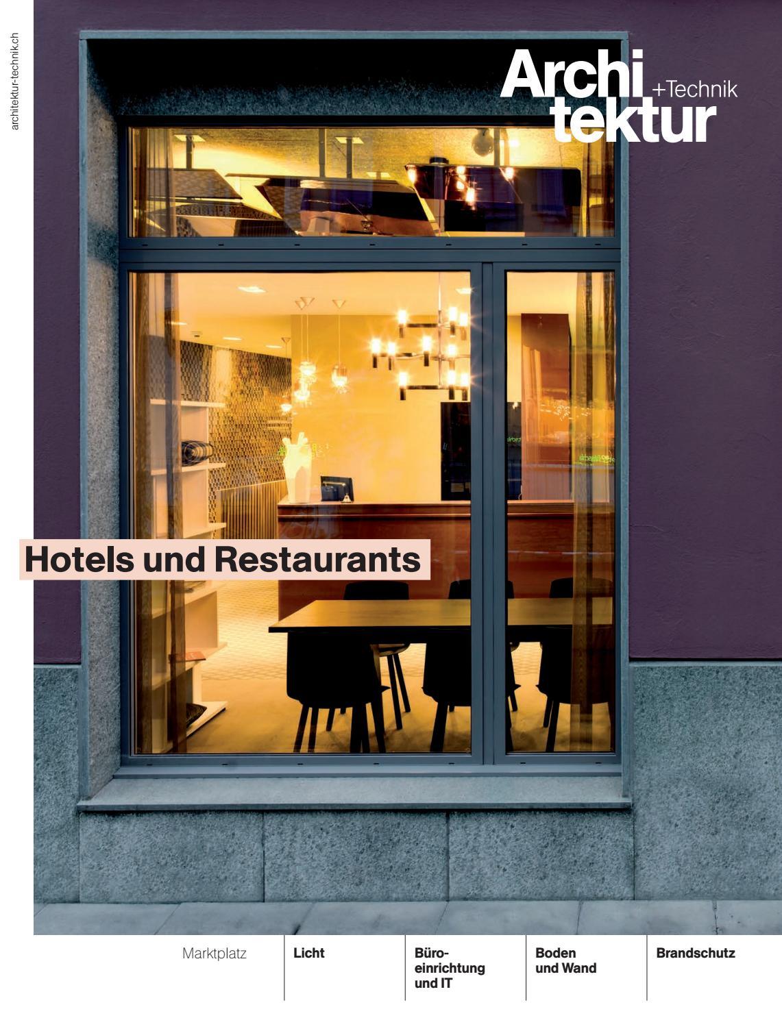 Kochschule architektur  Architektur+Technik 09 2016 by BL Verlag AG - issuu