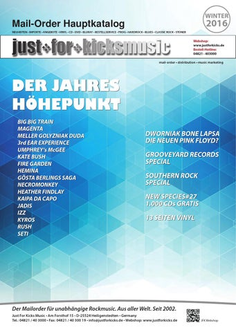 jfk katalog winter 2016 by just for kicks music issuu  Neu Bailey Of Hollywood Nv411 Hut Herren Auf Verkauf P 2112 #9