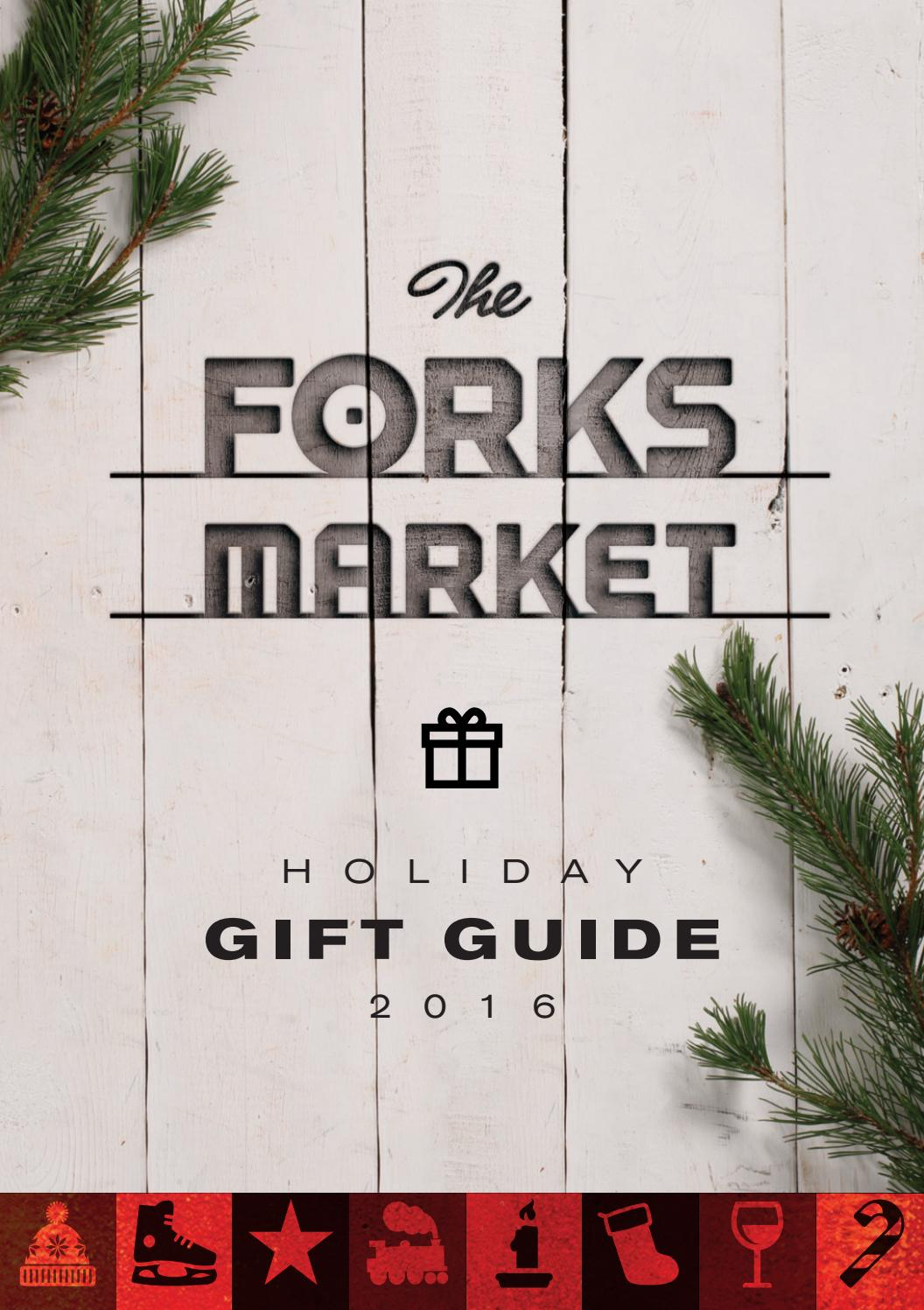 The Forks Market Holiday Gift Guide