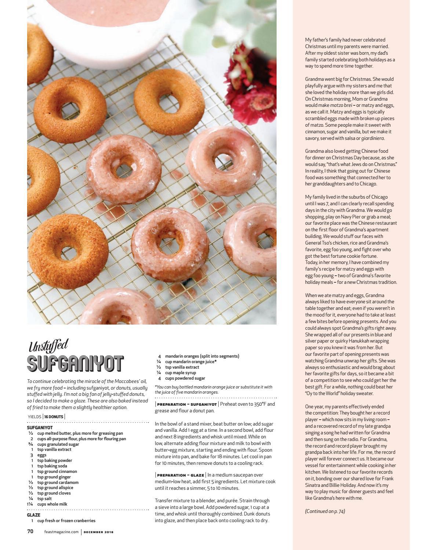 December 2016 Feast Magazine by Feast Magazine - issuu