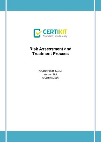 Isms Doc 06 2 Risk Essment And Treatment Process