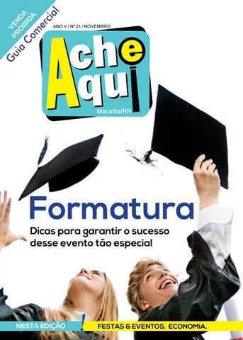 ca5f9a4ba99 Ache aqui! Macaiba - Edição 21 by FAÇA! Comunicação e Design - issuu