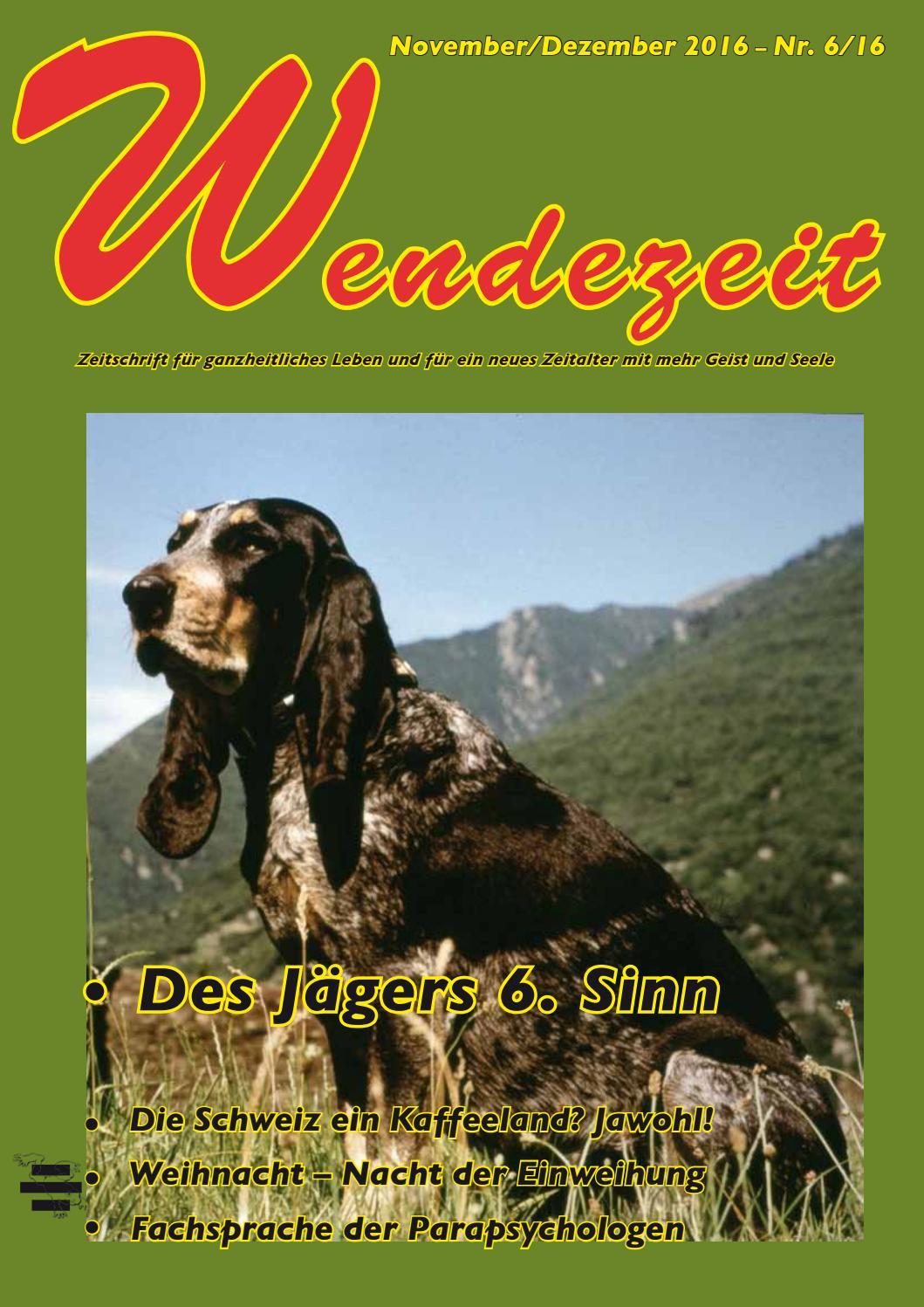 Wendezeit 6/16 - Des Jaegers 6. Sinn by Fatema Verlag - issuu