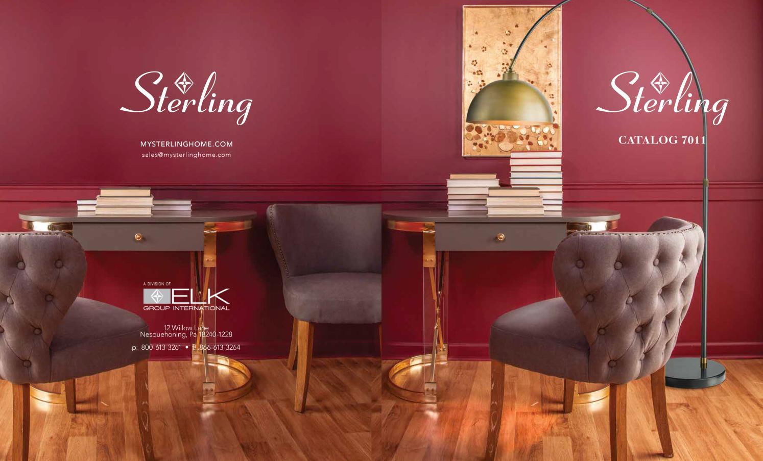 Tremendous Sterling Catalog 7011 By Tnspi Home Issuu Inzonedesignstudio Interior Chair Design Inzonedesignstudiocom