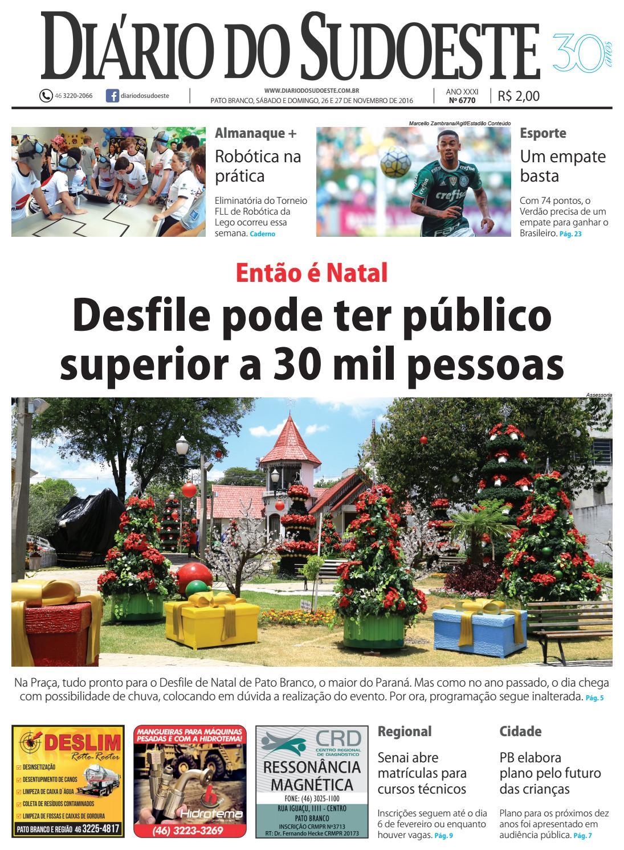 Diário do sudoeste 26 e 27 de novembro de 2016 ed 6770 by Diário do  Sudoeste - issuu e5fc8d693bd12