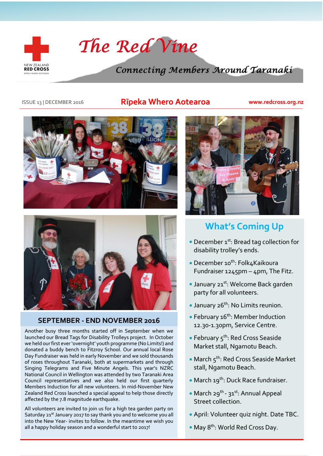 nz red cross taranaki december 2016 newsletter by inge de leeuw issuu