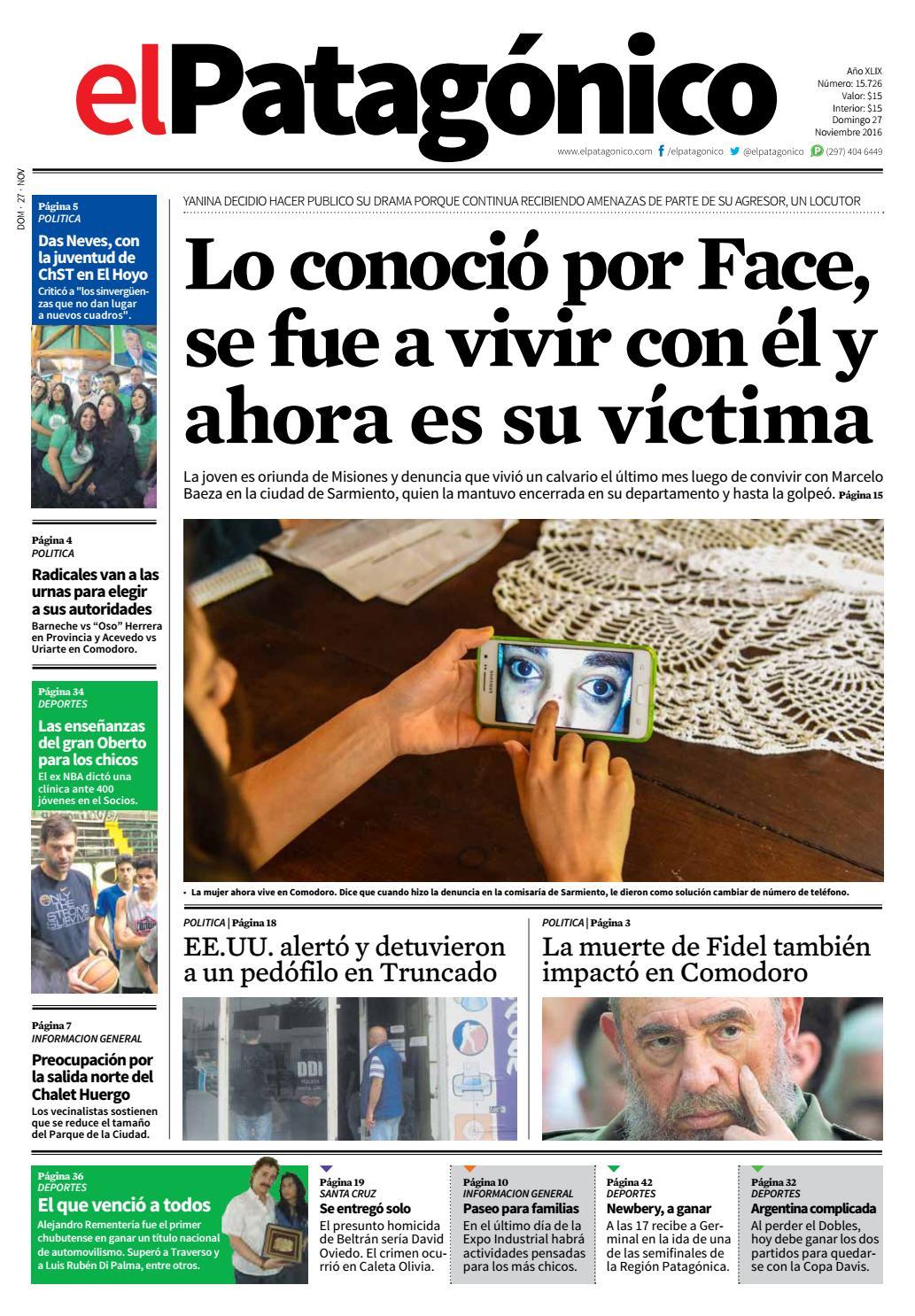 f63d0ce321397 edicion233426112016.pdf by El Patagonico - issuu