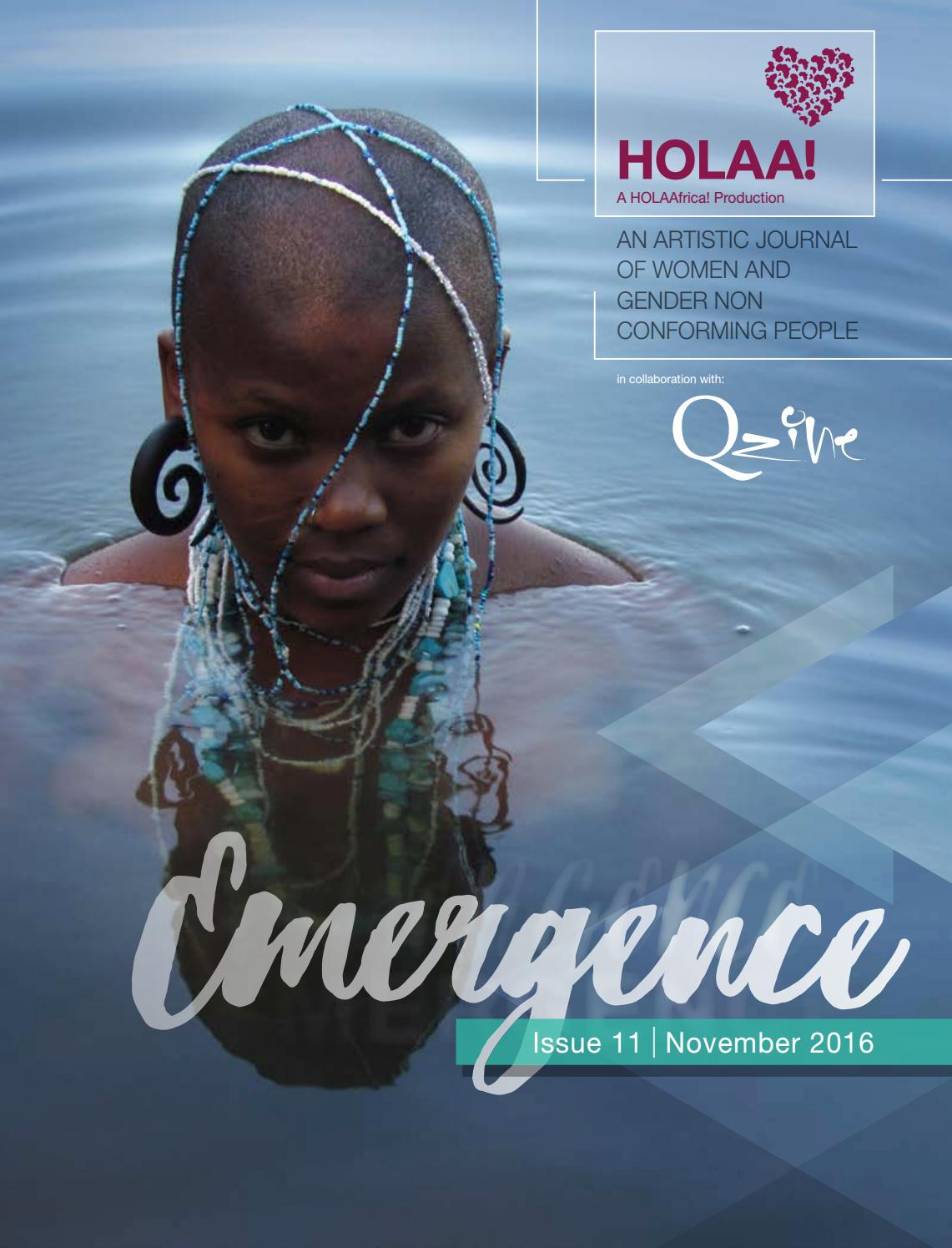 Emergence Artistic Journal in collaboration with Q-Zine by HOLAAfrica -  issuu