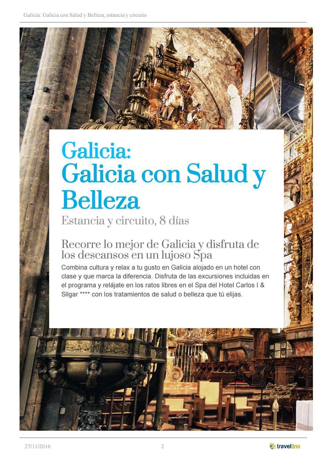 Circuito Galicia : Circuito galicia con salud y belleza by kerala viajes issuu