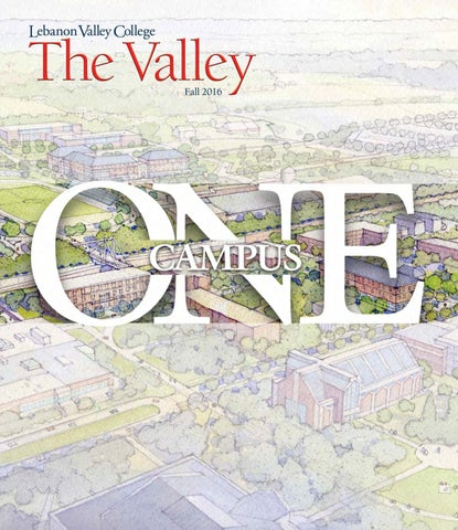 Lebanon Valley College Campus Map.The Valley Magazine By Lebanon Valley College Issuu