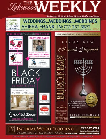 Lakewood Weekly Vol 19 Issue 39 By
