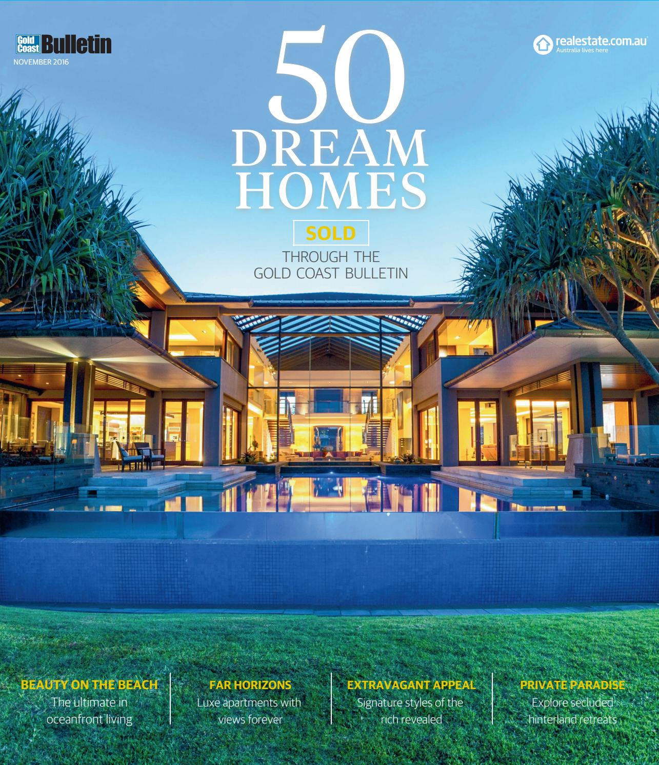 Gold Coast 50 Dream Homes by News Corp Studios Queensland - issuu