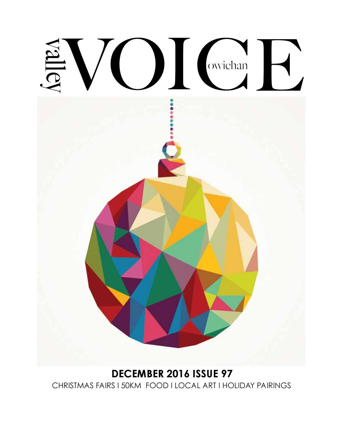 VV December 2016 Issue 97 by Cowichan Valley Voice - issuu