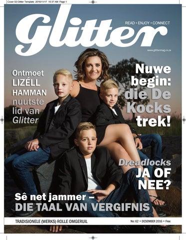 """Cover of """"Glitter - December 2016"""""""