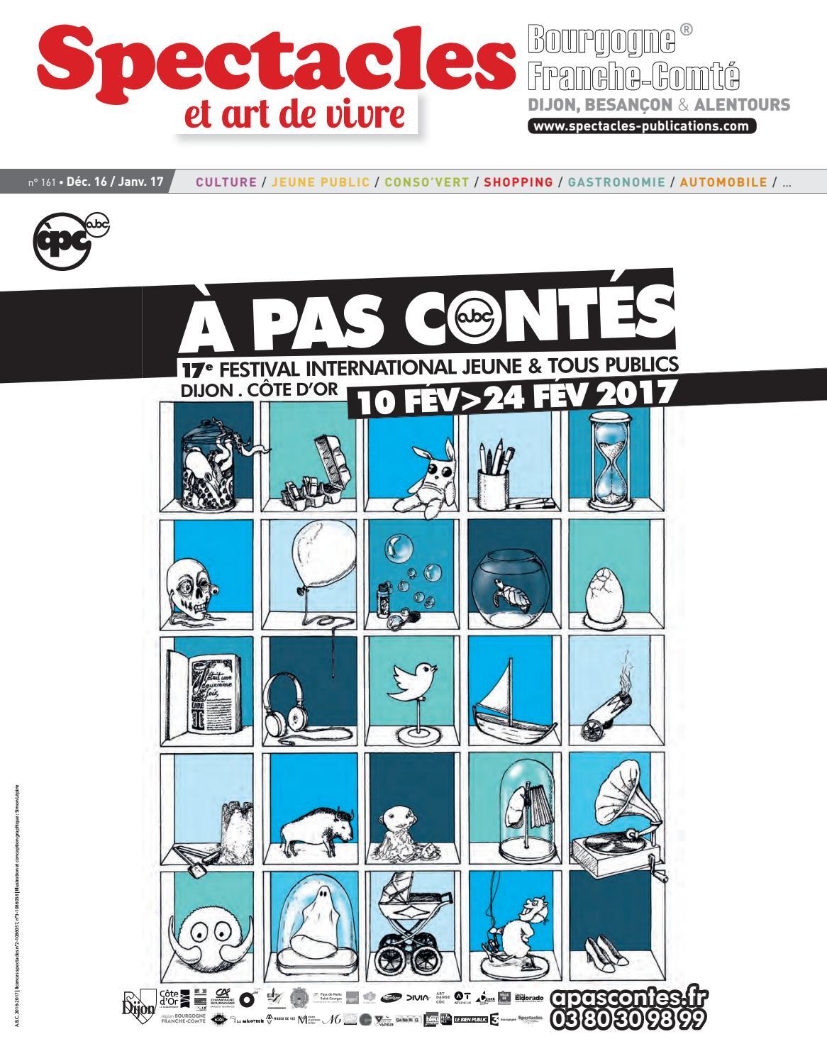d603d2e4a18ec Spectacles Publications Dijon n°161 / Décembre 2016 - Janvier 2017 by  SPECTACLES PUBLICATIONS - issuu