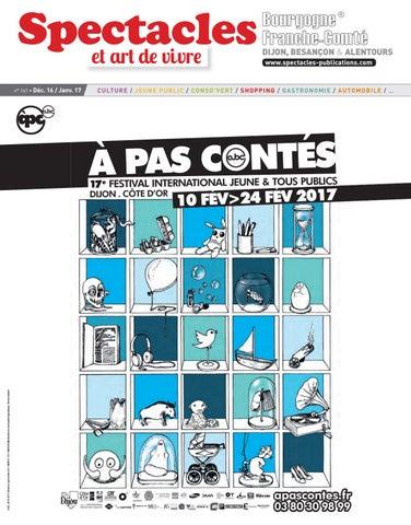 Spectacles Publications Dijon n°161   Décembre 2016 - Janvier 2017 ... 632f896ca12
