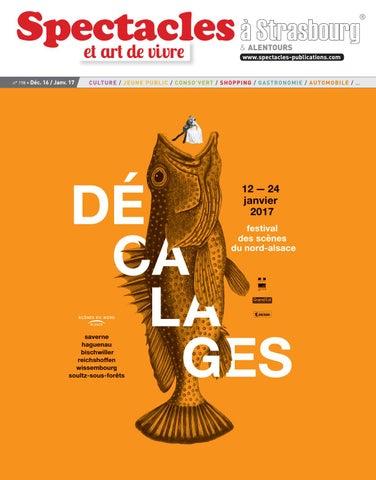 Spectacles Publications Strasbourg n°198   Décembre 2016 - Janvier ... 301dead79af