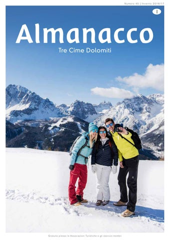 Almanacco Inverno 2016 17 by 3 Zinnen Dolomites - issuu 36d3aa73a240