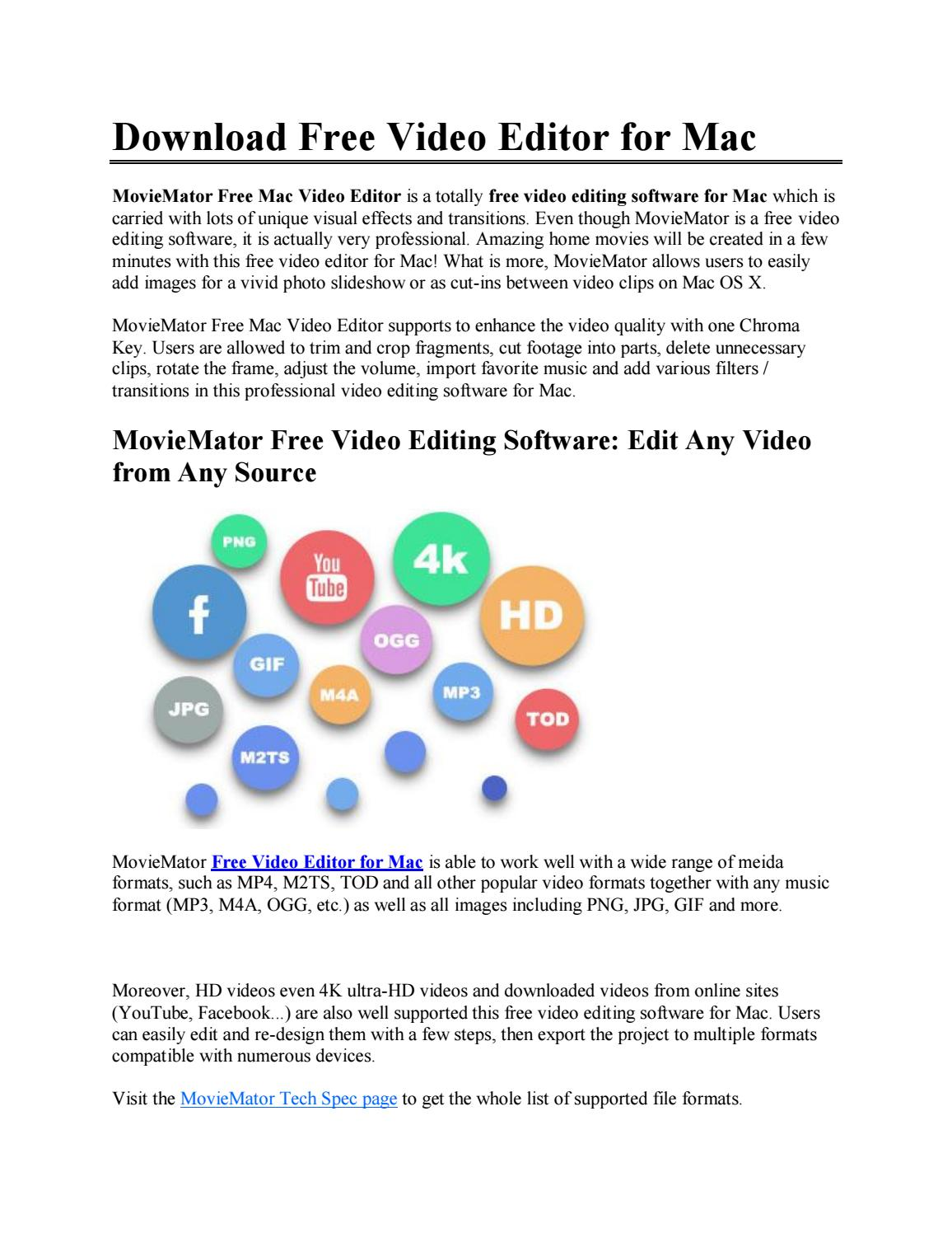 Download free video editor for mac by EtinySoft - issuu