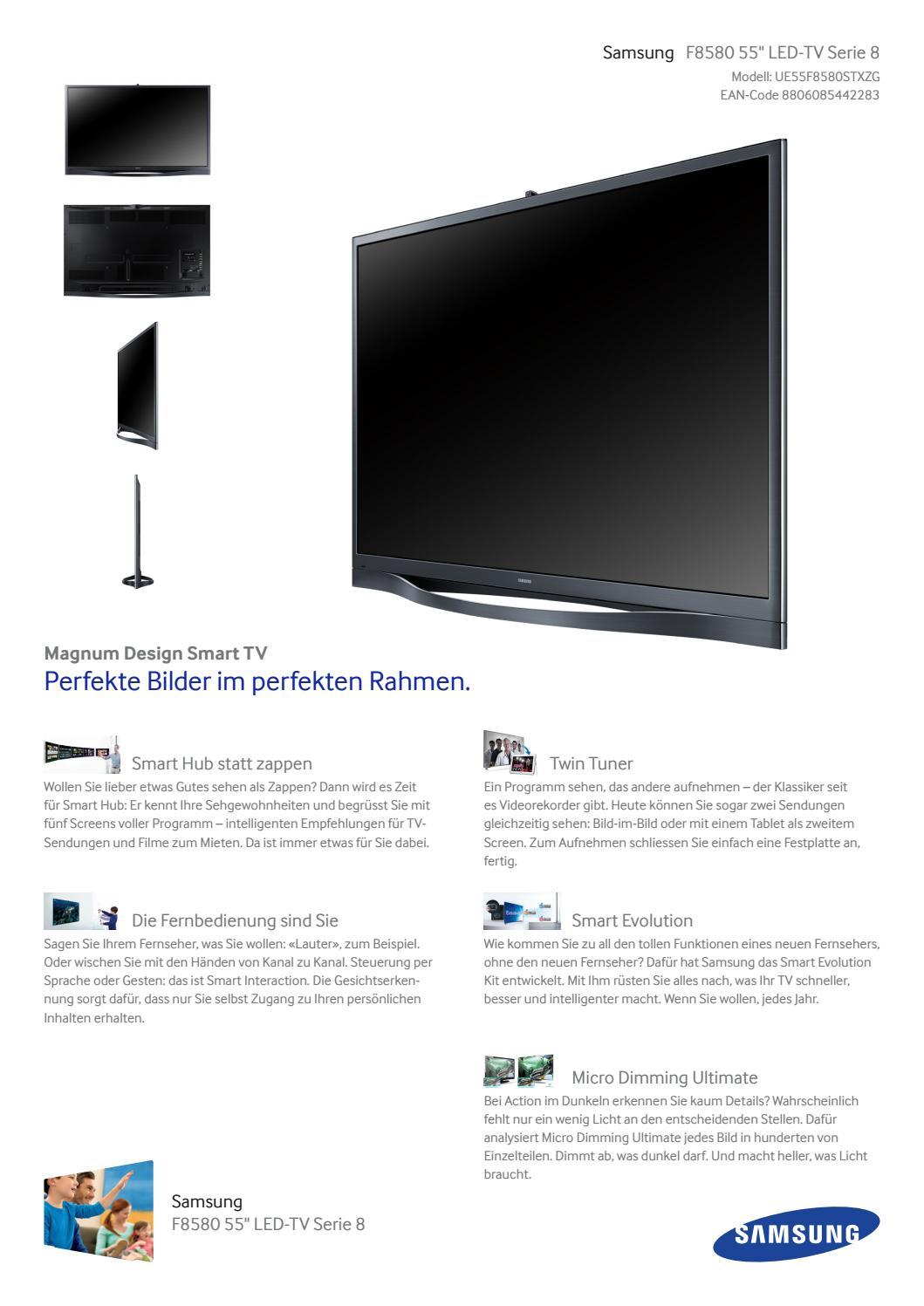 Samsung Datenblatt LED-TV by Arne Völker - issuu