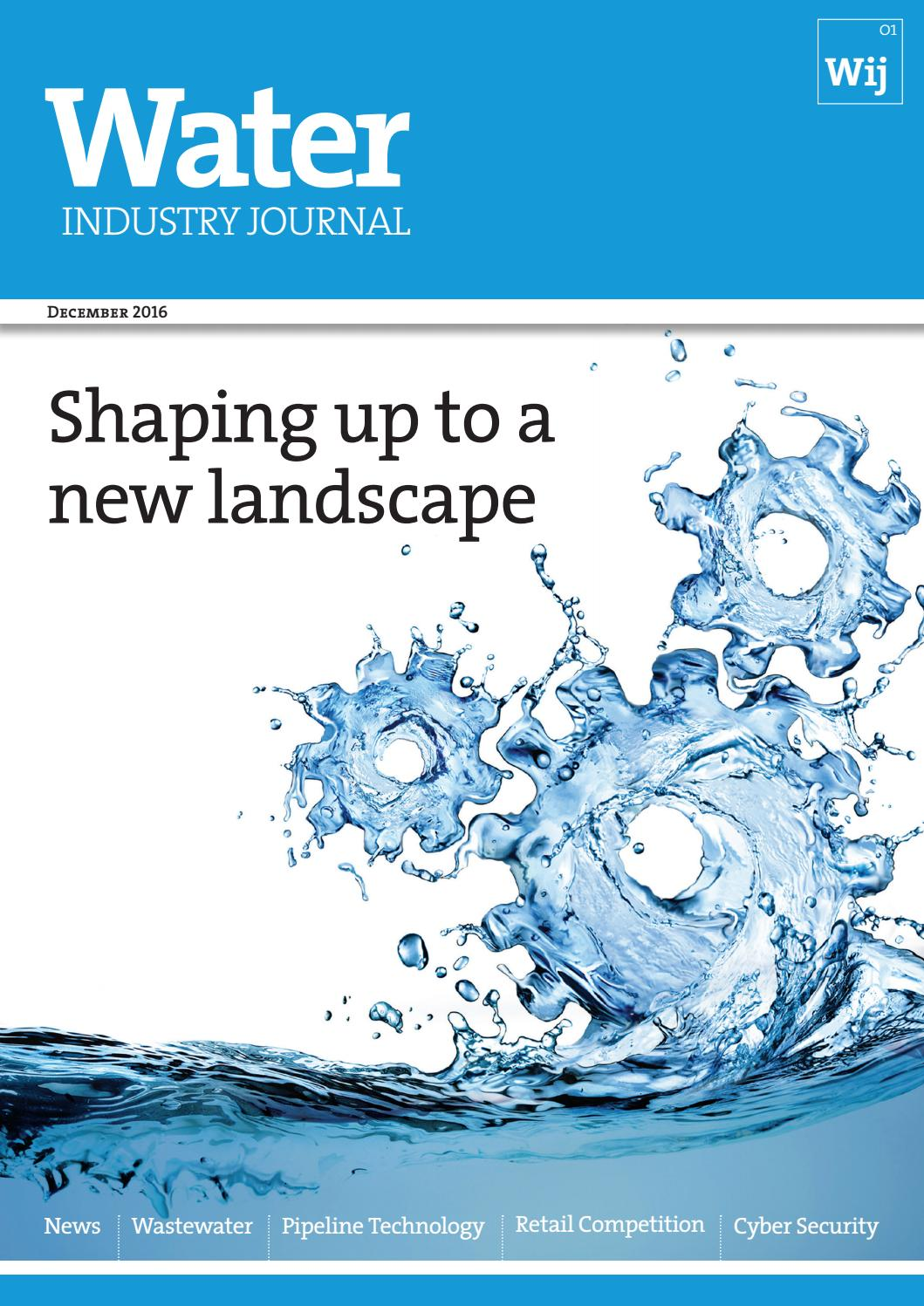 Water industry journal 1 by distinctive publishing issuu fandeluxe Choice Image