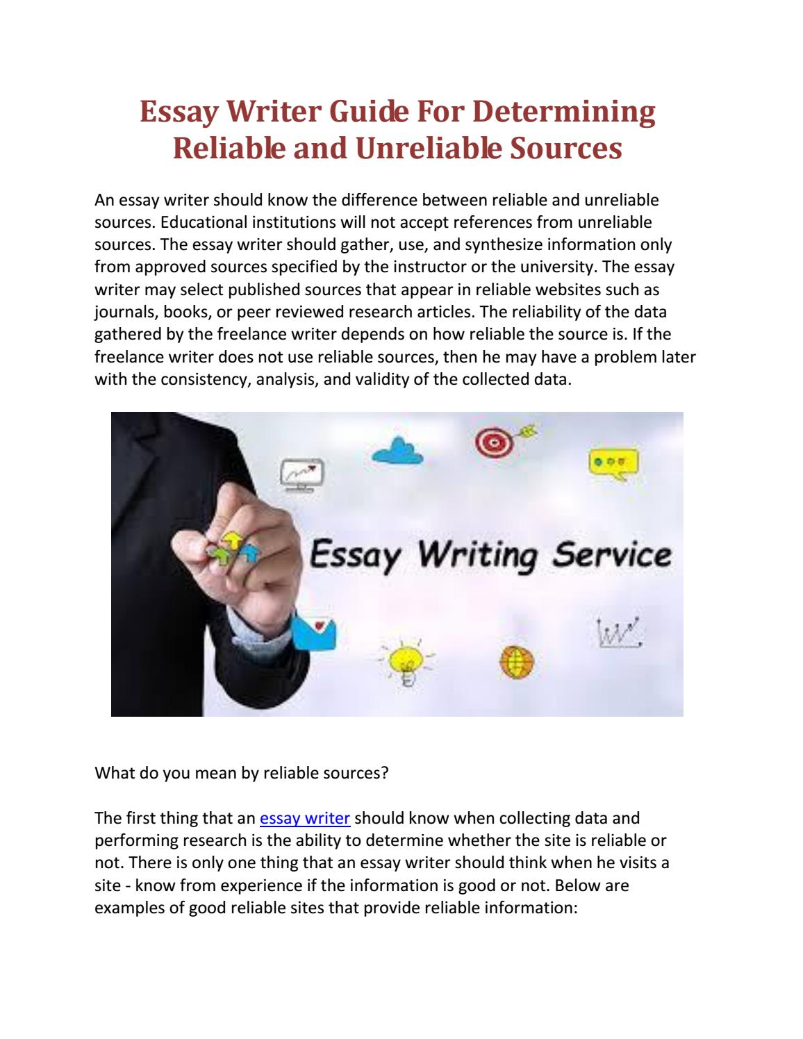 5 Best Essay Writing Services: Review of the Top 5 Most Trustworthy Essay Sites Today - SF Weekly
