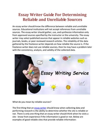 Writing essay practice test