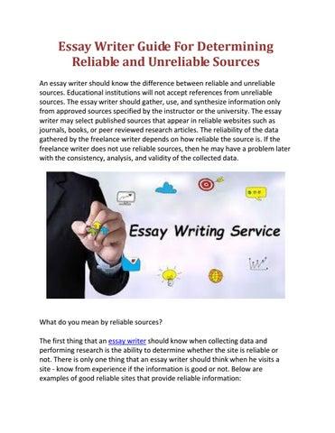 Writing essay practice test