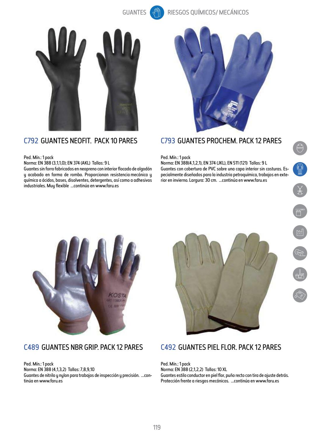 ba8a0d6ea12 EPIS y Uniformes ICOM Textil Catalogo FARU EPIS SEGURIDAD by ICOM  Multiservicios - issuu