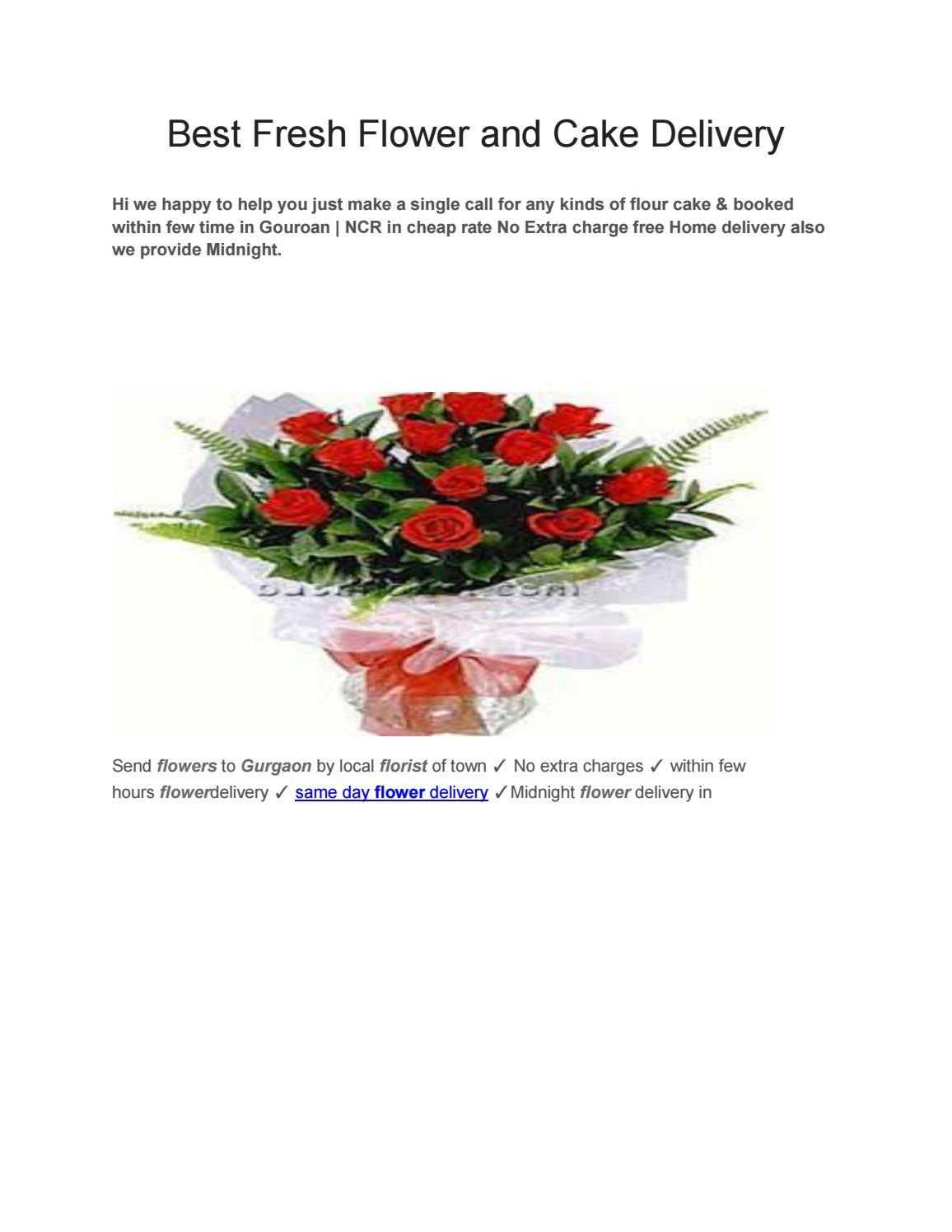 Best fresh flower and cake delivery by flower issuu izmirmasajfo