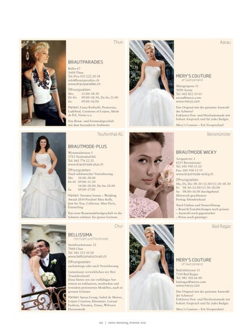 Swiss Wedding 01 2015 By Bl Verlag Ag Issuu