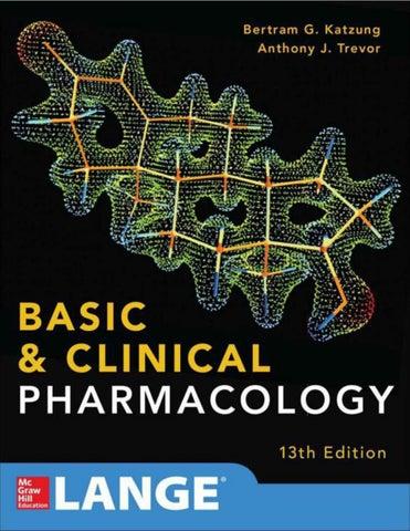 Basic & clinical pharmacology 1 by Hunain Taimi - issuu