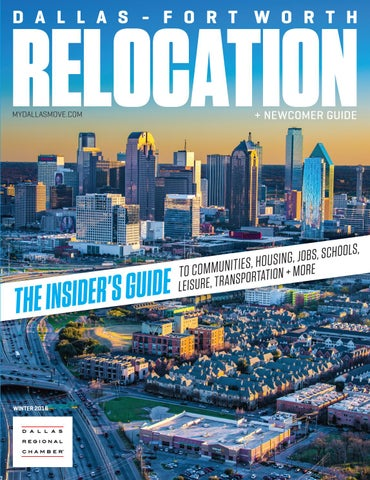 e98a7106a DFW Relocation + Newcomer Guide - Winter 2016 by Dallas Regional ...