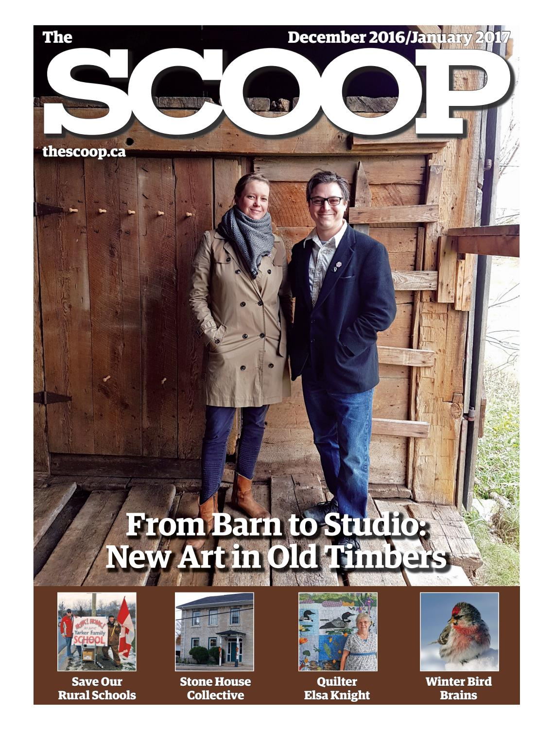 The scoop december 2016 january 2017 by the scoop issuu for Easons fish house