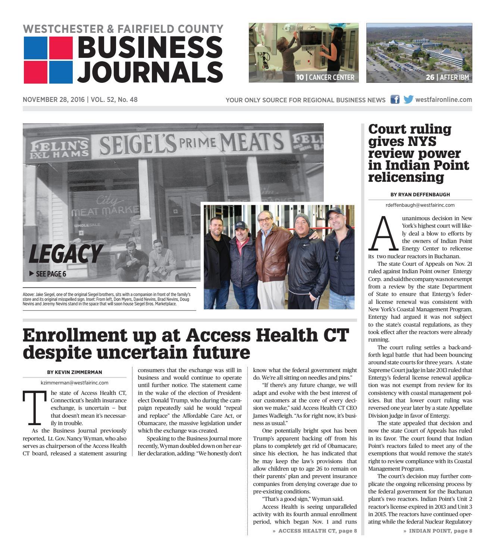 Westchester & Fairfield County Business Journals 112816 by Wag Magazine -  issuu