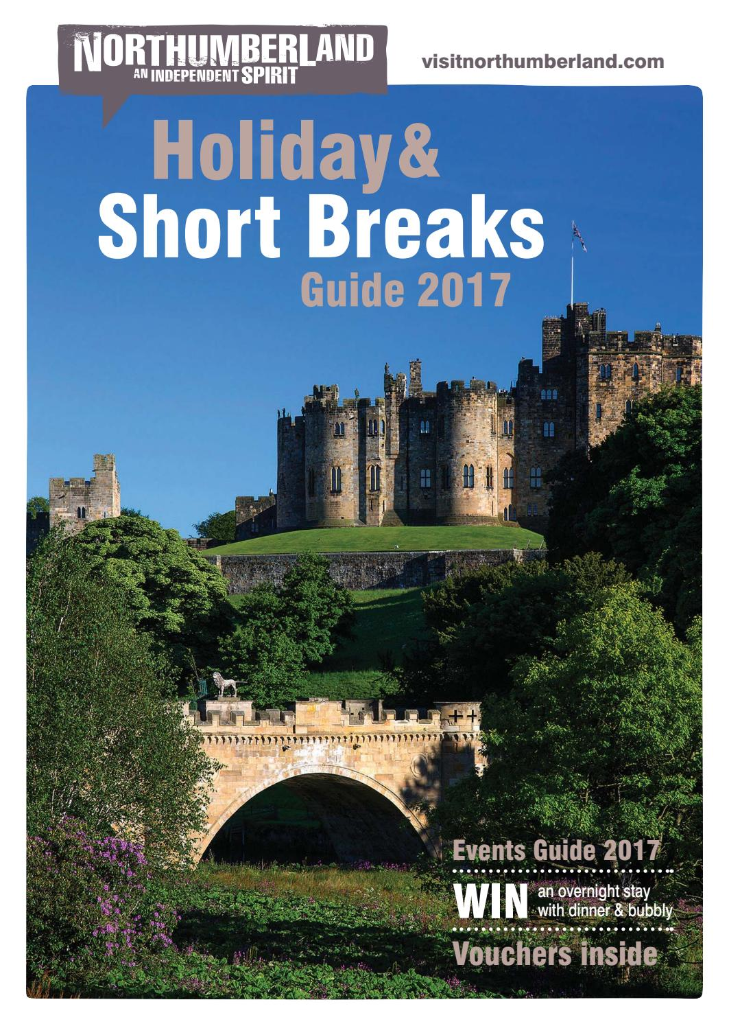 Northumberland Holiday and Short Breaks Guide 2017 by