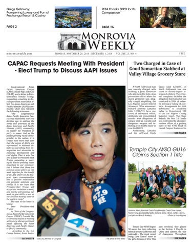 2016 11 28 monrovia by Beacon Media News - issuu