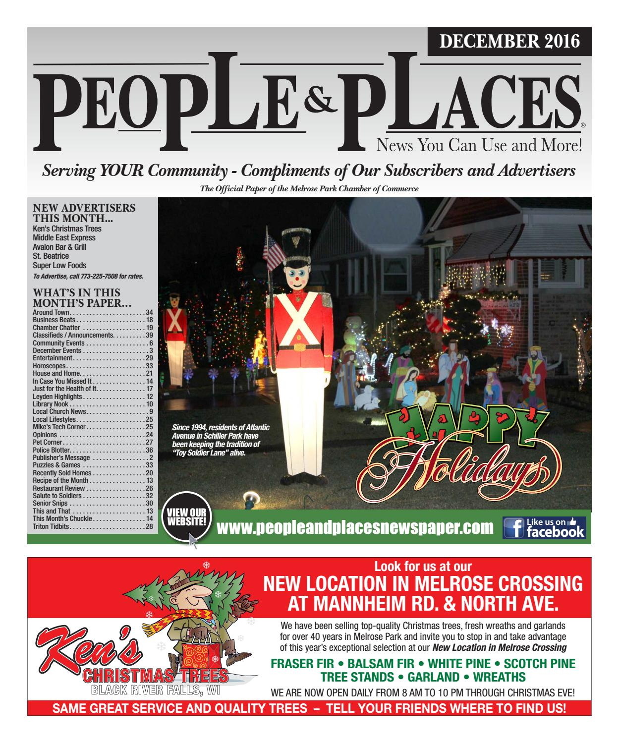 December 2016 People & Places Newspaper by Jennifer Creative - issuu