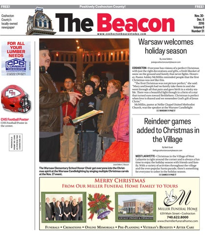 November 30 2016 coshocton county beacon by the coshocton county page 1 fandeluxe Gallery