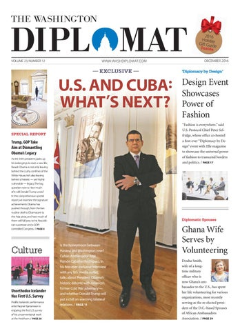 2549372eb1148 December 2016 by The Washington Diplomat - issuu