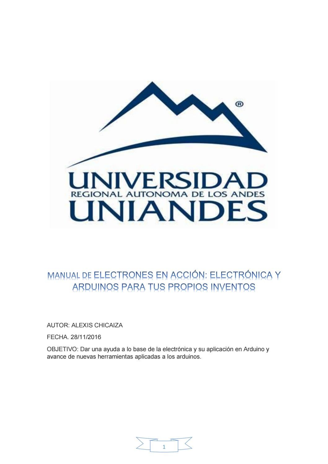 Electronica maual (1) by Alexis Visarrea - issuu