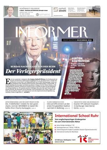 INFORMER DEZ 2016 By Presse Verlag Ruhr GmbH   Issuu